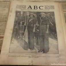 Militaria: ABC 27 DE OCTUBRE DE 1937, 22 PAGINAS, CADIZ BENDICION BANDERAS,CORDOBA, FRENTE ASTURIAS, ETC. Lote 140428366