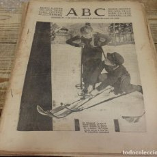 Militaria: ABC 4 DE FEBRERO DE 1938, 24 PAGINAS, AVILA,GRANJA DE TORREHERMOSA, ETC. Lote 140428878