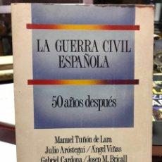 Militaria: LA GUERRA CIVIL ESPAÑOLA 50 AÑOS DESPUÉS. Lote 140481444