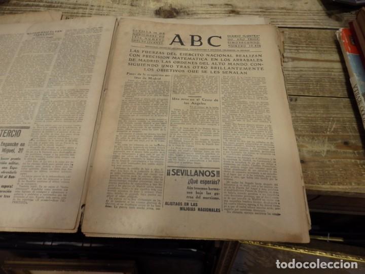 Militaria: ABC 10 DE NOVIEMBRE DE 1936, 20 PAGINAS, PARLA,GUADIX,MADRID,PARTE DE GUERRA,ETC - Foto 3 - 141750188