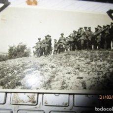 Militaria: FOTO INEDITA ORIGINAL CORONELES ALTOS MANDOS REPUBLICA GUERRA CIVIL . Lote 141313534