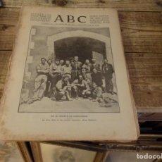 Militaria: ABC 1 DE NOVIEMBRE DE 1936, 21 PAGINAS, CRUZ ROJA SOMOSIERRA,PARLA,HUMANES,VALDEMORO, PARTE DE GUERR. Lote 141354850