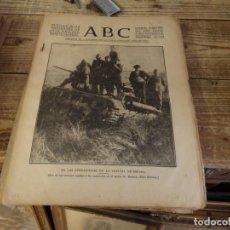 Militaria: ABC 28 DE NOVIEMBRE DE 1936, 14 PAGINAS, ANDUJAR,, PARTE DE GUERRA, ETC. Lote 141355422