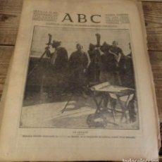 Militaria: ABC 11 DE NOVIEMBRE DE 1936, 15 PAGINAS, GETAFE,FRENTE DE MADRID,PARTE DE GUERRA, ETC. Lote 141356814