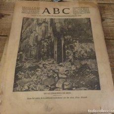 Militaria: ABC 29 DE SEPTIEMBRE DE 1936, 23 PAGINAS, IRUN,TOMA DE TOLEDO,MONDRAGON,PARTE DE GUERRA, ETC. Lote 141361346