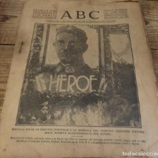 Militaria: ABC 25 DE SEPTIEMBRE DE 1936, 22 PAGINAS, HOMENAJE SEGUI,PARTE DE GUERRA, ETC. Lote 141362354