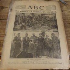 Militaria: ABC 18 DE DICIEMBRE DE 1936, 14 PAGINAS, CEREZO,SOMOSIERRA,BOADILLA DEL MONTE,,PARTE DE GUERRA, ETC. Lote 141363894