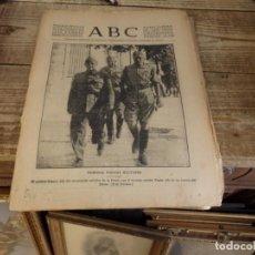 Militaria: ABC 23 DE AGOSTO DE 1936, 18 PAGINAS,COLUMNA FANTASMA,GUADALUPE, CORDOBA,BADAJOZ,PARTE DE GUERRA, ET. Lote 141373198