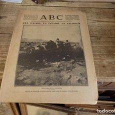 Militaria: ABC 12 DE DICIEMBRE DE 1936, 15 PAGINAS,FRENTE DE VIZCAYA,PARTE DE GUERRA, ETC. Lote 141375202