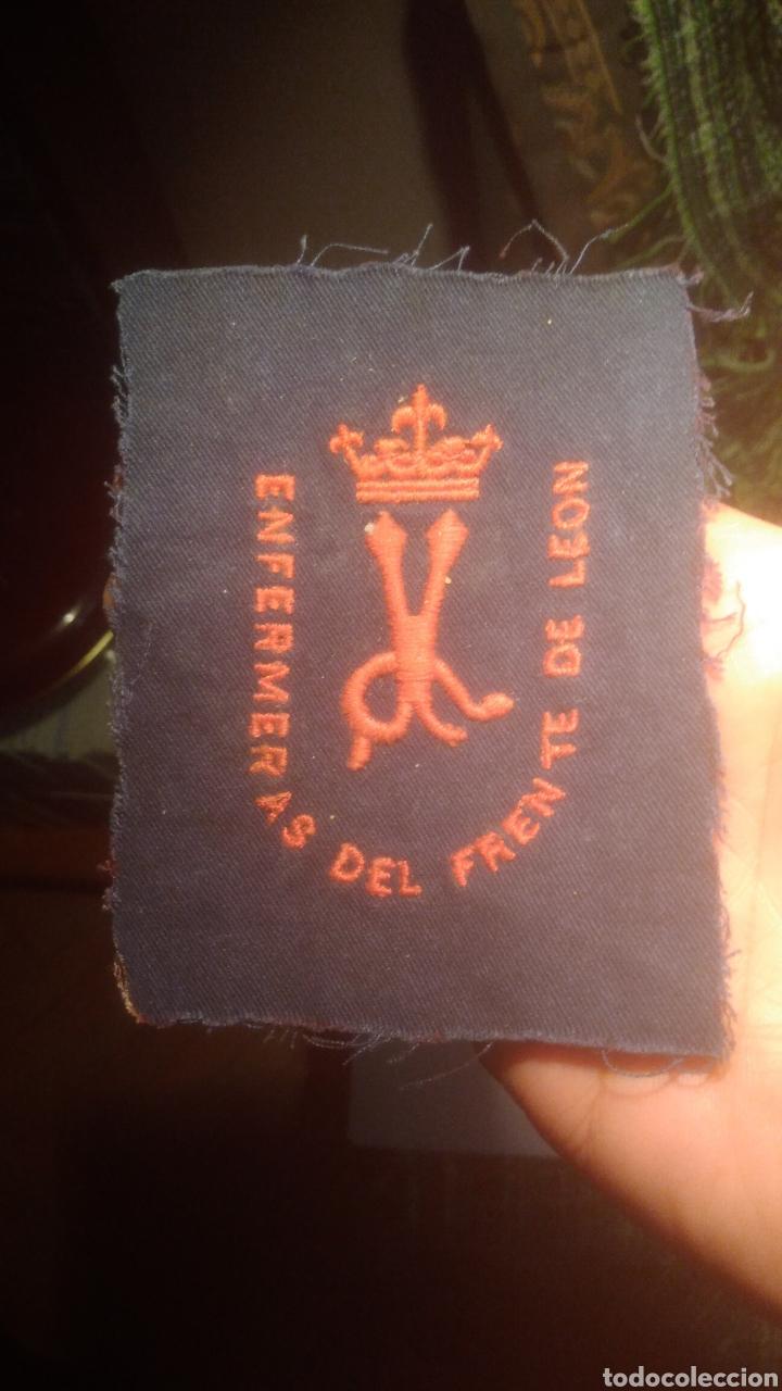 GUERRA CIVIL. FRENTE DE LEON. ORIGINAL.ENFERMERAS DEL FRENTE (Militar - Guerra Civil Española)