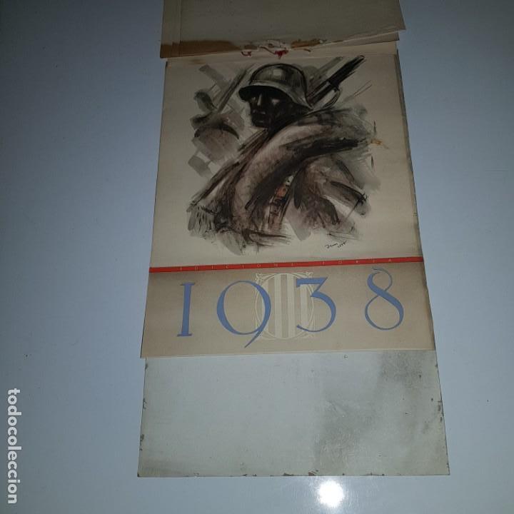 Militaria: ALMANAQUE DE LA REVOLUCION ESPAÑOLA 1937 -diseñado por SIM con los 12 meses del año --- UNICO - Foto 6 - 142420994