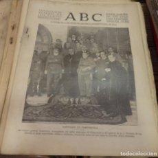 Militaria: ABC 28 DE OCTUBRE DE 1936, 21 PAGINAS, CASARRUBIELOS, GRIÑON, CUBAS ,TORREJON,PARTE DE GUERRA, ETC. Lote 143184334