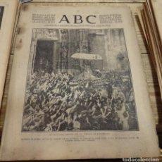 Militaria: ABC 17 DE AGOSTO DE 1937, ,22 PAGINAS,SALIDA VIRGEN DE LOS REYES, CORDOBA,REINOSA,PARTE DE GUERRA, E. Lote 143269154