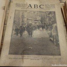 Militaria: ABC 1 DE SEPTIEMBRE DE 1937, ,22 PAGINAS,CONQUISTA REINOSA,FRENTE DE GRANADA,PARTE DE GUERRA, ETC... Lote 143273030