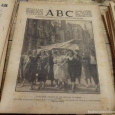 Militaria: ABC 2 DE SEPTIEMBRE DE 1937, ,22 PAGINAS,SAN VICENTE DE LA BARQUERA, UNQUERA,CORDOBA,GRANADA,PARTE D. Lote 143276046