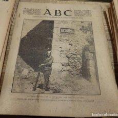 Militaria: ABC 12 DE SEPTIEMBRE DE 1937, ,22 PAGINAS,REINOSA,FRENTE ASTURIAS,LEON,CORDOBA,PARTE DE GUERRA, ETC.. Lote 143276526