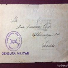 Militaria: CENSURA MILITAR.. Lote 143915569