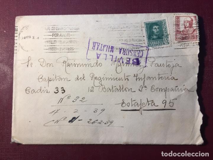 CENSURA MILITAR. (Militar - Guerra Civil Española)