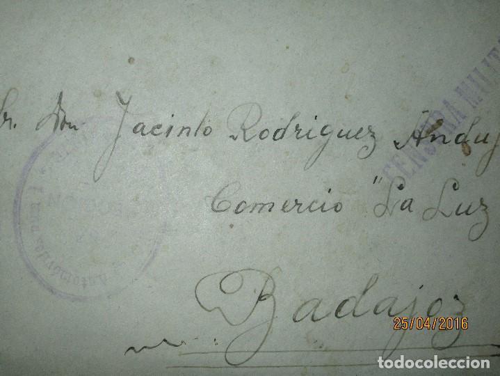 Militaria: FOTOS Y CARTA EFIGIE DE FRANCO FRENTE CATALUÑA FET JONS CENSURA GUERRA CIVIL 1938 BON AUTOMOBIL - Foto 7 - 144098166