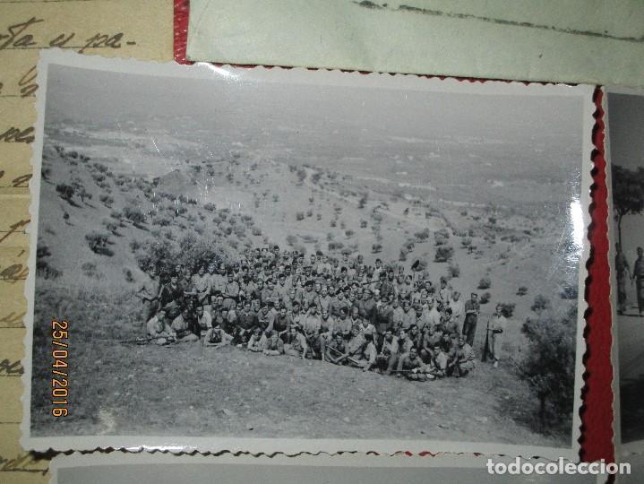 Militaria: FOTOS Y CARTA EFIGIE DE FRANCO FRENTE CATALUÑA FET JONS CENSURA GUERRA CIVIL 1938 BON AUTOMOBIL - Foto 9 - 144098166