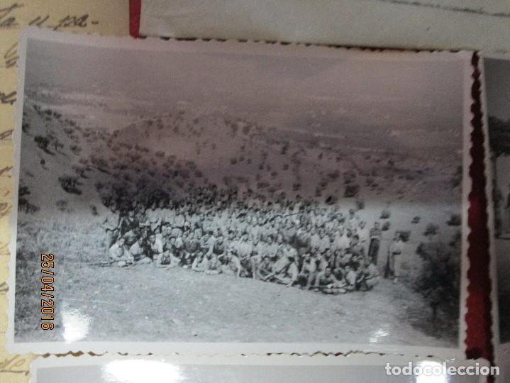 Militaria: FOTOS Y CARTA EFIGIE DE FRANCO FRENTE CATALUÑA FET JONS CENSURA GUERRA CIVIL 1938 BON AUTOMOBIL - Foto 10 - 144098166