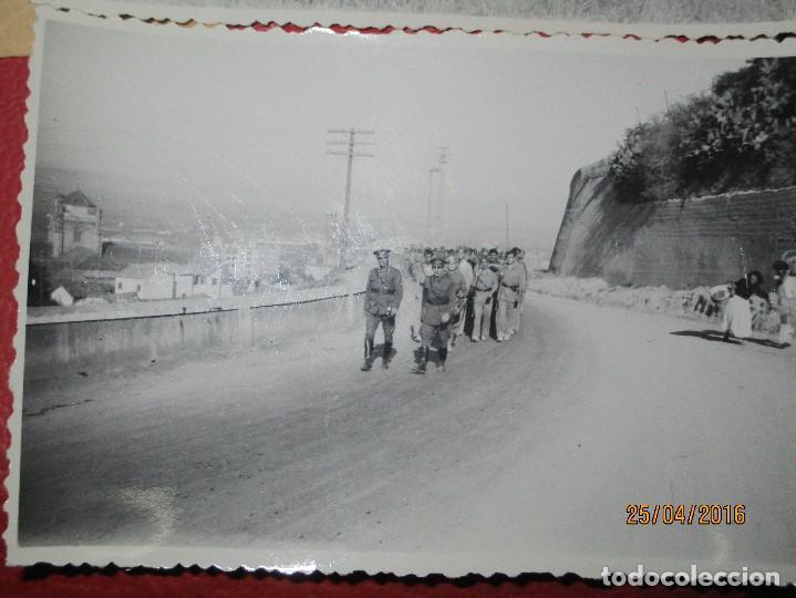 Militaria: FOTOS Y CARTA EFIGIE DE FRANCO FRENTE CATALUÑA FET JONS CENSURA GUERRA CIVIL 1938 BON AUTOMOBIL - Foto 13 - 144098166