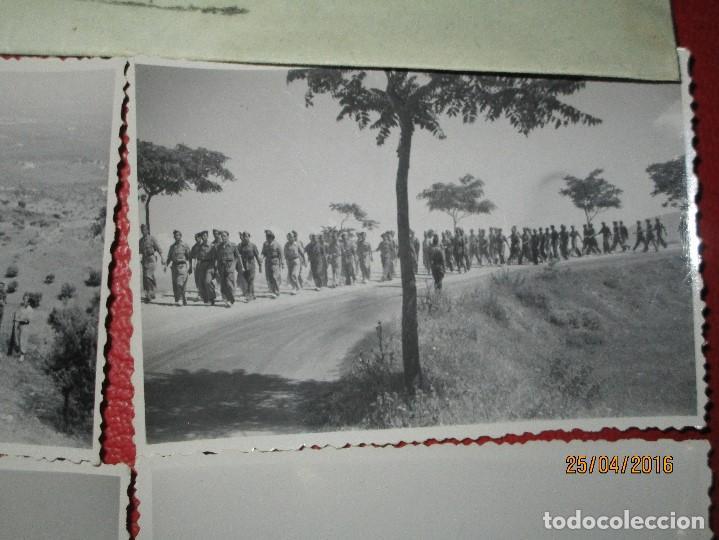 Militaria: FOTOS Y CARTA EFIGIE DE FRANCO FRENTE CATALUÑA FET JONS CENSURA GUERRA CIVIL 1938 BON AUTOMOBIL - Foto 16 - 144098166