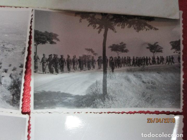 Militaria: FOTOS Y CARTA EFIGIE DE FRANCO FRENTE CATALUÑA FET JONS CENSURA GUERRA CIVIL 1938 BON AUTOMOBIL - Foto 17 - 144098166