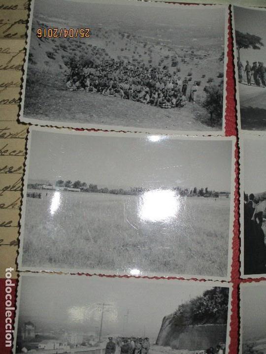 Militaria: FOTOS Y CARTA EFIGIE DE FRANCO FRENTE CATALUÑA FET JONS CENSURA GUERRA CIVIL 1938 BON AUTOMOBIL - Foto 18 - 144098166