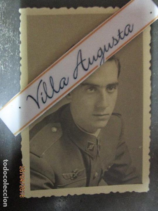 AVIACION OFICIAL PILOTO CIRCA EN GUERRA CIVIL ESPAÑOLA FOTO INEDITA POSIBLE SALMANTINO (Militar - Guerra Civil Española)
