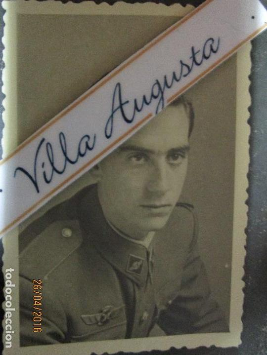 Militaria: AVIACION OFICIAL PILOTO CIRCA EN GUERRA CIVIL ESPAÑOLA FOTO INEDITA POSIBLE SALMANTINO - Foto 2 - 144204390