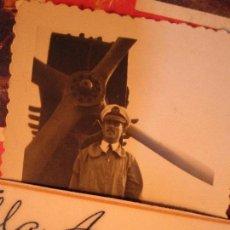 Militaria: AVIACION PILOTO OFICIAL DE LEGION COMBATIENTE EN GUERRA CIVIL CIRCA EN 1940 MELILLA. Lote 144416530