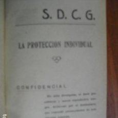 Militaria: SERVICIO DE DEFENSA CONTRA GASES LA PROTECCIÓN INDIVIDUAL EJERCITO REPUBLICANO. Lote 145623886