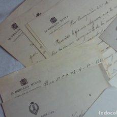 Militaria: LOTE DE 22 CARTAS MULTIPLES MEMBRETES REPUBLICANOS,DE UN MILITAR REPUBLICANO,DESDE EL FRENTE,1937. Lote 146195514