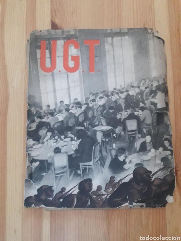 Militaria: Folleto Guerra Civil Fosig UGT de cara a la guerra catalan Comisio Agitacio y Propaganda - Foto 4 - 146239166