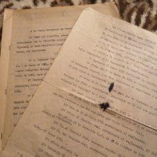 Militaria: ALGEMESI. EXPEDIENTE ELISEO SANCHIS LAGO, VOLUNTADES, REPÚBLICA,1934/35. FUNDACIÓN. LIBERAL-SOCIAL. Lote 146593865