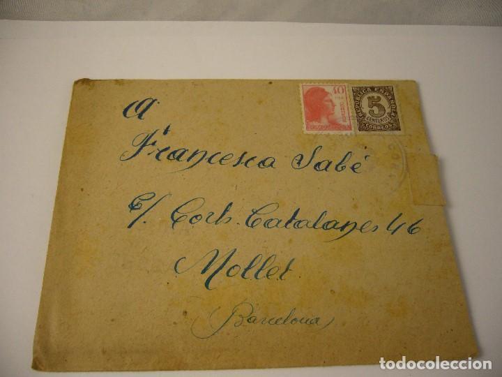 Militaria: CARTA CENSURA MILITAR DE GUERRA 1938 - Foto 2 - 146696262