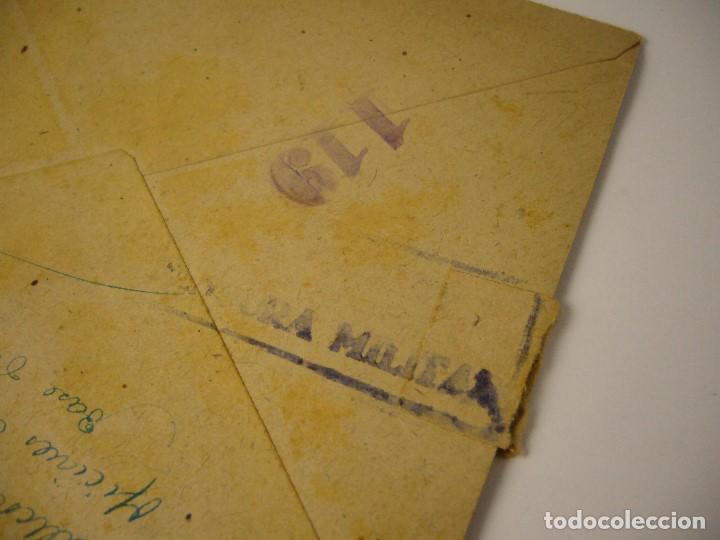 Militaria: CARTA CENSURA MILITAR DE GUERRA 1938 - Foto 4 - 146696262