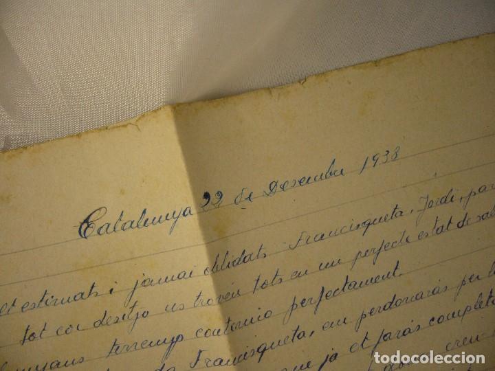 Militaria: CARTA CENSURA MILITAR DE GUERRA 1938 - Foto 5 - 146696262