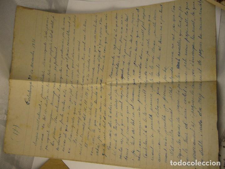 Militaria: CARTA CENSURA MILITAR DE GUERRA 1938 - Foto 6 - 146696262