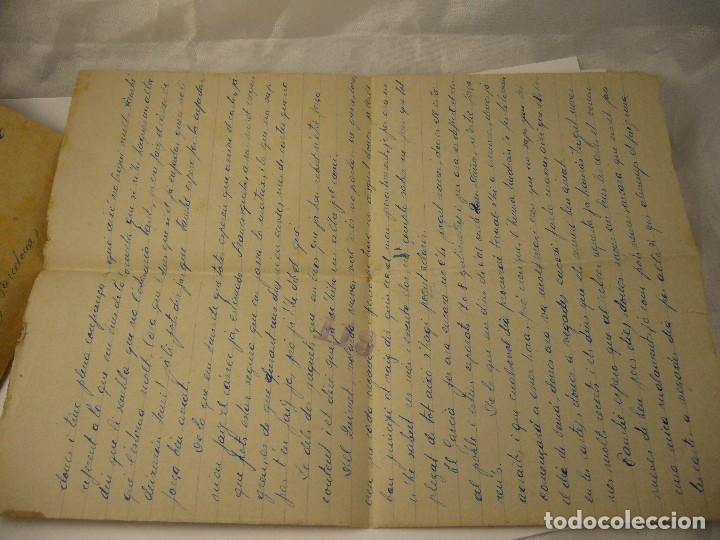 Militaria: CARTA CENSURA MILITAR DE GUERRA 1938 - Foto 7 - 146696262