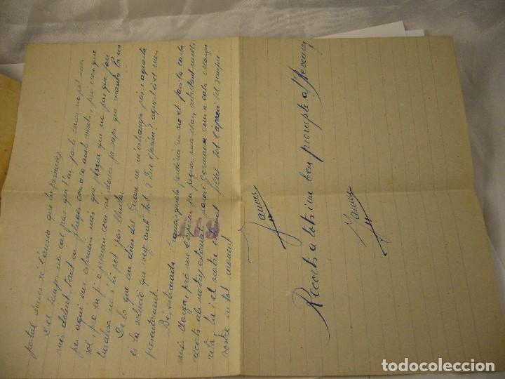 Militaria: CARTA CENSURA MILITAR DE GUERRA 1938 - Foto 9 - 146696262
