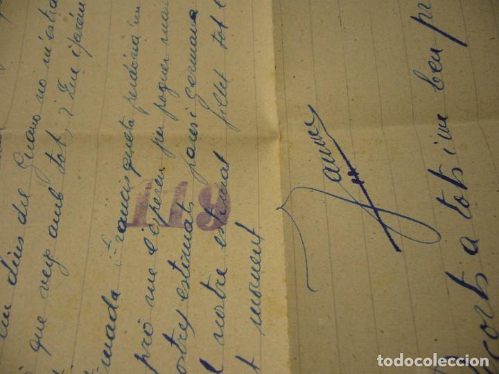 Militaria: CARTA CENSURA MILITAR DE GUERRA 1938 - Foto 10 - 146696262