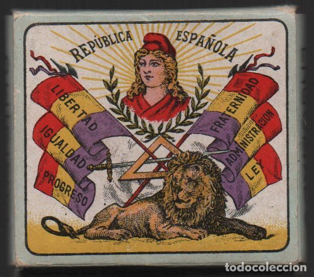 Militaria: ALCOY, 14 ABRIL 1931, PROCLAMACION DE LA REPUBLICA,-FIESTA NACIONAL,FABRICANTE,LEOPOLDO FERRANDY, - Foto 2 - 146732670