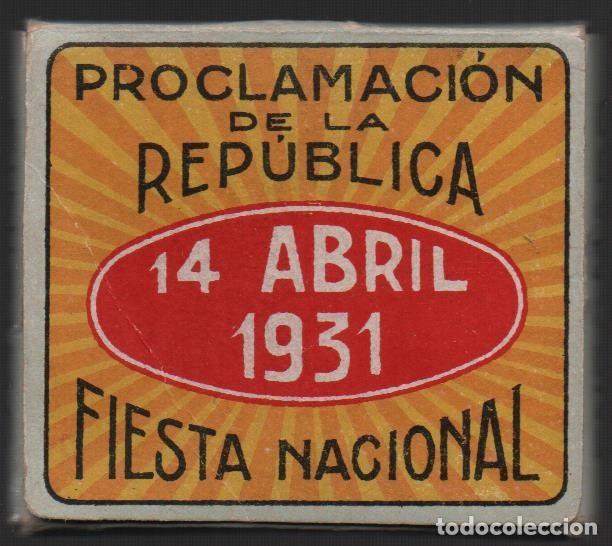 Militaria: ALCOY, 14 ABRIL 1931, PROCLAMACION DE LA REPUBLICA,-FIESTA NACIONAL,FABRICANTE,LEOPOLDO FERRANDY, - Foto 3 - 146732670