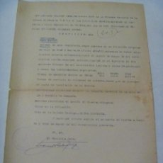 Militaria: GUERRA CIVIL - MILICIAS FALANGE SEVILLA: CERTIFICADO DE SERVICIO COMBATIENTE. HUELMA, 1940.. Lote 149383450