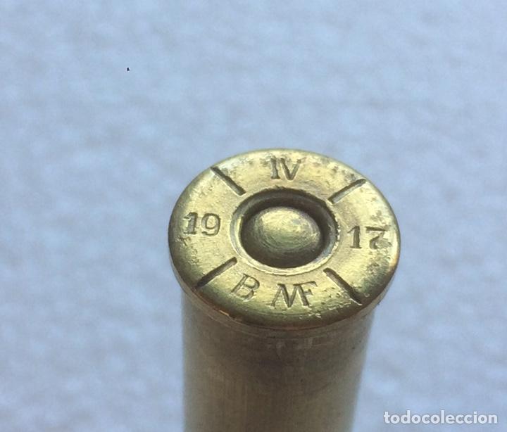 Militaria: Peine 5 cartuchos 8 x 50 R Mannlicher Austriaco. GCE. INERTE ENVIO GRATUITO Manlicher Malincher - Foto 5 - 149677157