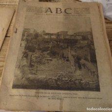 Militaria: ABC 1 DE AGOSTO DE 1937, 22 PAGINAS, TORIL,MASEGOSO,ARROYOFRIO,VALDECUENCA, PARTE DE GUERRA,ETC. Lote 149862938