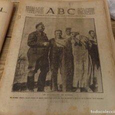 Militaria: ABC 29 DE SEPTIEMBRE DE 1937, ,22 PAGINAS,ANIVERSARIO PROCLAMACION JEFE DE ESTADO FRANCO, ETC.. Lote 149864610