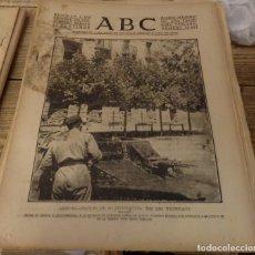 Militaria: ABC 7 DE SEPTIEMBRE DE 1937, SEVILLA,22 PAGINAS,REINOSA,LLANES,POTES,BERMEO,PARTE DE GUERRA. Lote 149865258